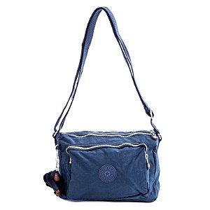 Bolsa Kipling Transversal Reth Azul Escuro