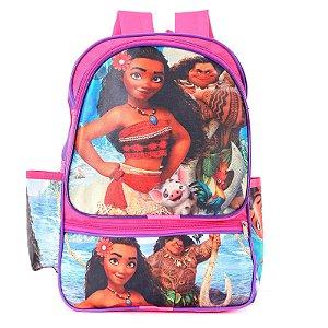 Mochila Infantil Escolar de Costas Moana Com Maui