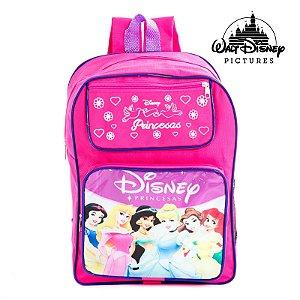Mochila Infantil Escolar de Costas Princesas