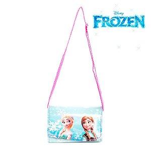 Mini Bolsa Infantil Elsa e Anna Frozen