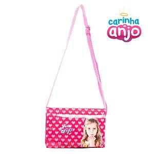 Mini Bolsa Infantil Carinha de Anjo