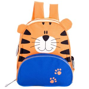 Mochila Infantil Escolar Skip Zoo Hop Bichinhos Tigre