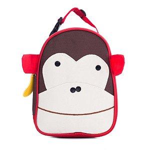 Lancheira Infantil Skip Zoo Hop Bichinhos Macaco