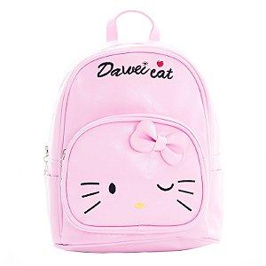 Mochila Infantil Escolar Dawei Cat Hello Kitty