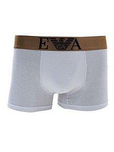 Cueca Boxer Emporio Armani Lisa Branca