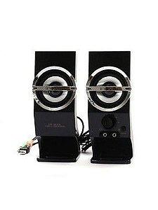Caixa De Som Estéreo Usb - Inova