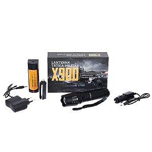 Lanterna De Led Tática Militar X900