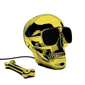 AeroSkull HD+ Speaker Dourado AEBU
