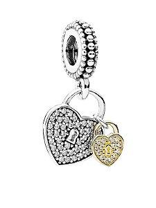 Charm Pandora Pendente Love Locks PAND