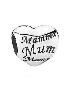 Charm Coração de Mãe PAND