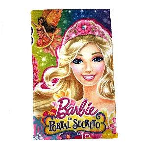 Toalha De Rosto E Mão Barbie Felpuda Infantil Personagens