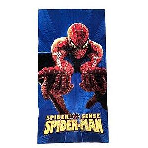 Toalha De Banho Spider-Man Felpuda Infantil Personagens