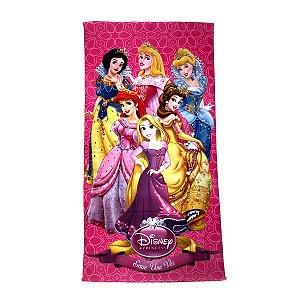 Toalha De Banho Princesas Felpuda Infantil Personagens