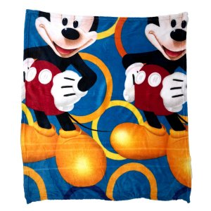 Manta Mickey Microfibra Infantil Personagens