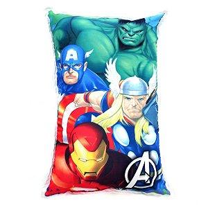 Almofada Decorativa Personalizada Infantil Avengers