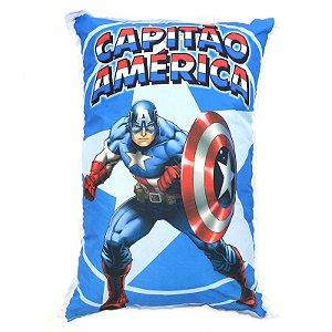 Almofada Decorativa Personalizada Infantil Capitão América