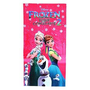 Toalha De Banho Felpuda Infantil Personagens Frozen 2