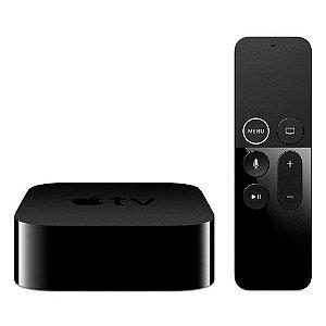 Apple Tv 4k 64 Gb Wifi + Controle Bluetooth - Garantia 1 ano