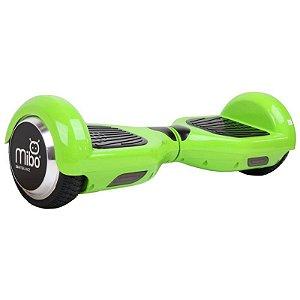 """Scooter Elétrico Mibo com Roda de 6.5"""" e Bluetooth - Verde Limão"""