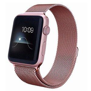 Pulseira para Apple Watch 42 mm Rosê