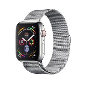 63b6d7c2669 Relógio Apple Watch Series 4 GPS+Celular-Prata 40mm
