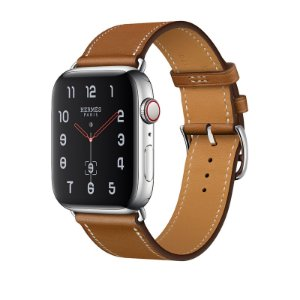 Relógio Apple Watch Series 4 Hermès  GPS+Celular-Marrom 40mm