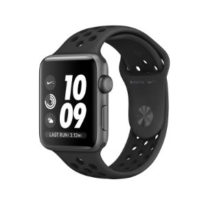 Relógio Apple Watch Nike Series 3 GPS Preto-42mm