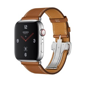 Relógio Apple Watch Series 4 Hermès Marrom com Fivela GPS+Celular 44mm