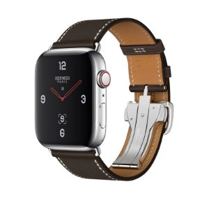 014ac96ec88 Relógio Apple Watch Series 4 Hermès Marrom GPS+Celular 44mm