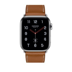 Relógio Apple Watch Series 4 Hermès Marrom GPS+Celular 44mm