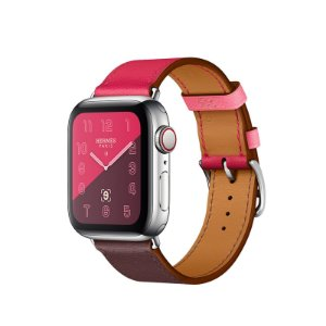 Relógio Apple Watch Series 4 Hermès Rosa e Marrom GPS+Celular 40mm