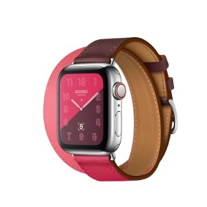 Relógio Apple Watch Series 4 Hermès Rosa GPS+Celular 40mm