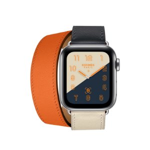 Relógio Apple Watch Series 4 Hermès Laranja GPS+Celular 40mm
