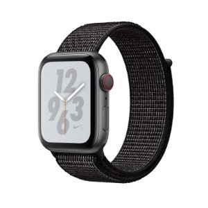 Relógio Apple Watch Series 4 Preto Nike GPS+Celular 40mm