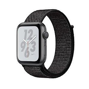 Relógio Apple Watch Series 4 GPS Preto Nike 40mm