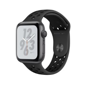 Relógio Apple Watch Series 4 GPS Preto Esportivo Nike  44mm