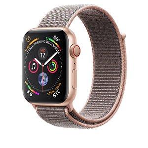Relógio Apple Watch Series 4 GPS+Celular Areia Rosa 40mm