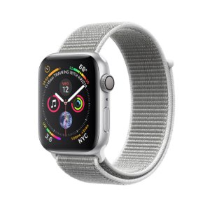 Relógio Apple Watch Series 4 GPS Prata Esportivo 40mm