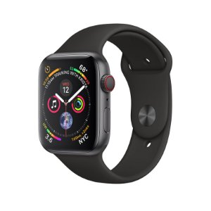 Relógio Apple Watch Series 4 GPS+Celular Preto 40mm