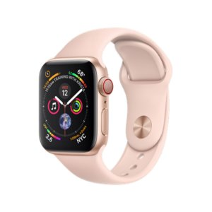 Relógio Apple Watch Series 4 GPS+Celular Rosê 40mm
