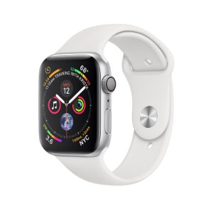 Relógio Apple Watch Series 4 GPS Prata Esportivo 44mm