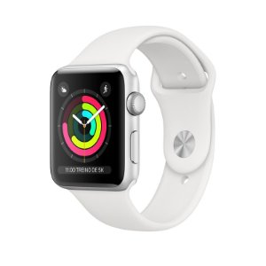 Relógio Apple Watch Series 3 GPS-Branco  38mm