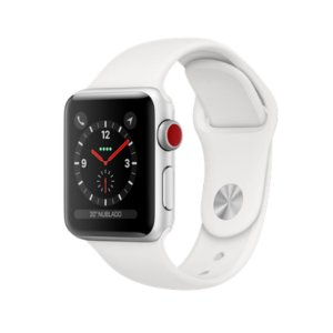 Relógio Apple Watch Series 3 GPS+Celular Branco 38mm