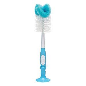 Escova de Limpeza Para Mamadeira de Bebê - Dr. Brown´S Azul