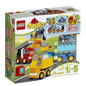 10816 - Lego Duplo Kit de Construção Meus Primeiros Veículos ESBJ