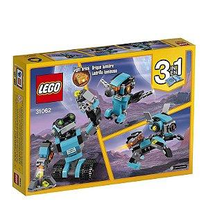 31062 - Lego Creator 3 em 1 Kit de Construção Robô Explorador  ESBJ