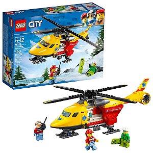 60179 - Lego City Kit de Construção Helicóptero de Ambulância  ESBJ