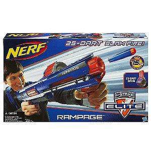Lançador de Dardos Nerf N-Strike Elite Rampage Blaster A0714  ESBJ