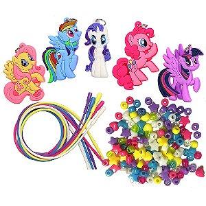 Kit de Colares Infantil My Little Pony Colares de Atividade de Pôneis  ESBJ