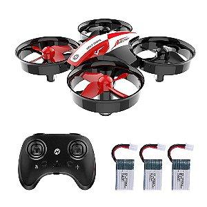 Drone Holy Stone HS210 RC Nano Quadcopter 3D Flip Modo Headless e Bateria DRON